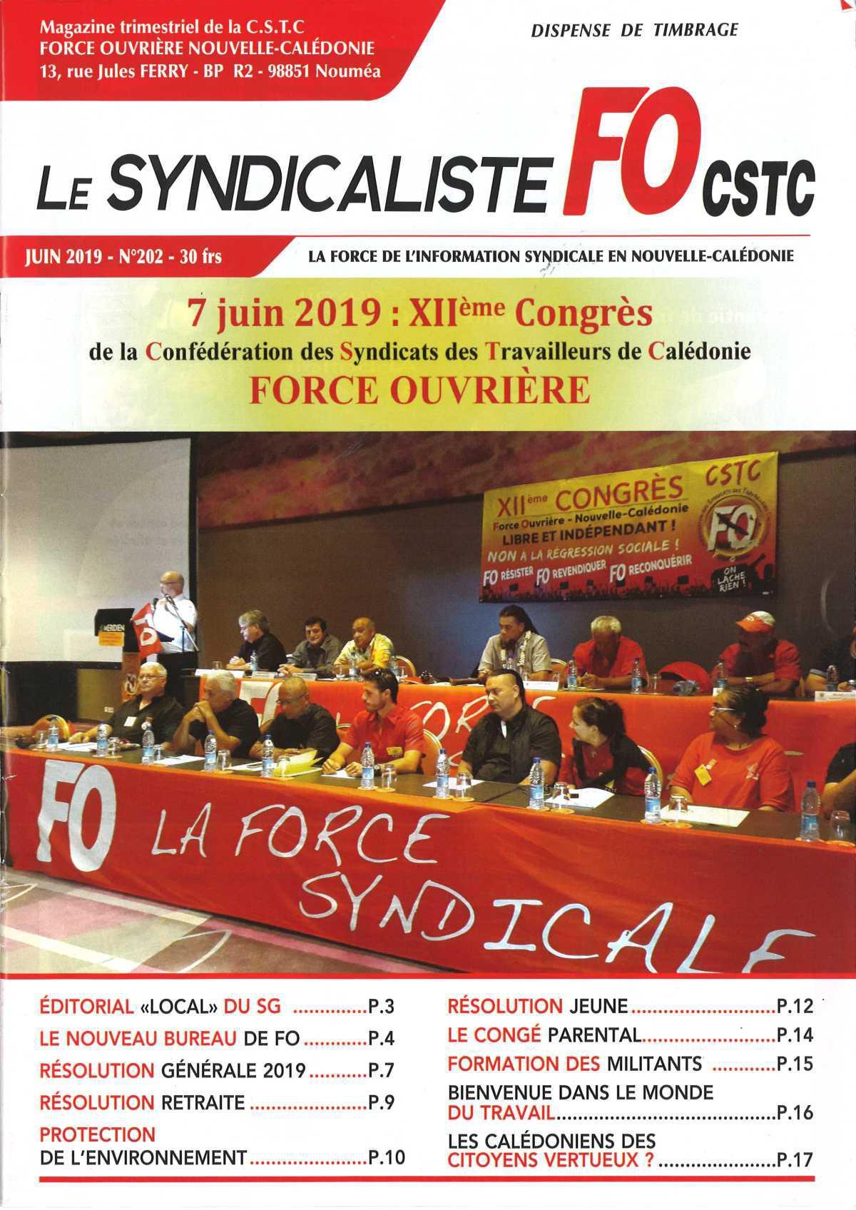 LE SYNDICALISTE 202