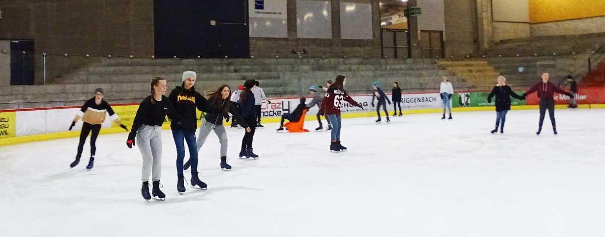 Wintersporttag der 2. Sek P in Zuchwil