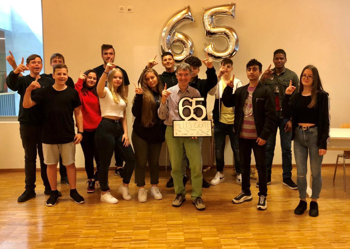 Geburtstagsüberraschung für Herr Reist
