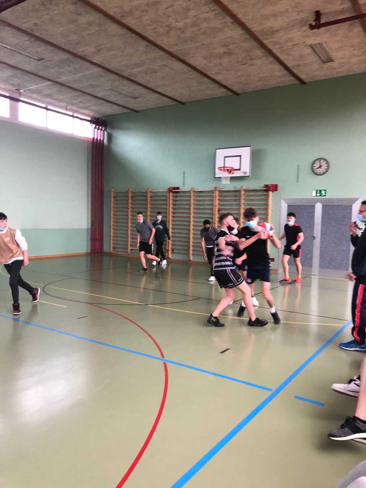 Basketball-Turnier SB3b vs. SE3a