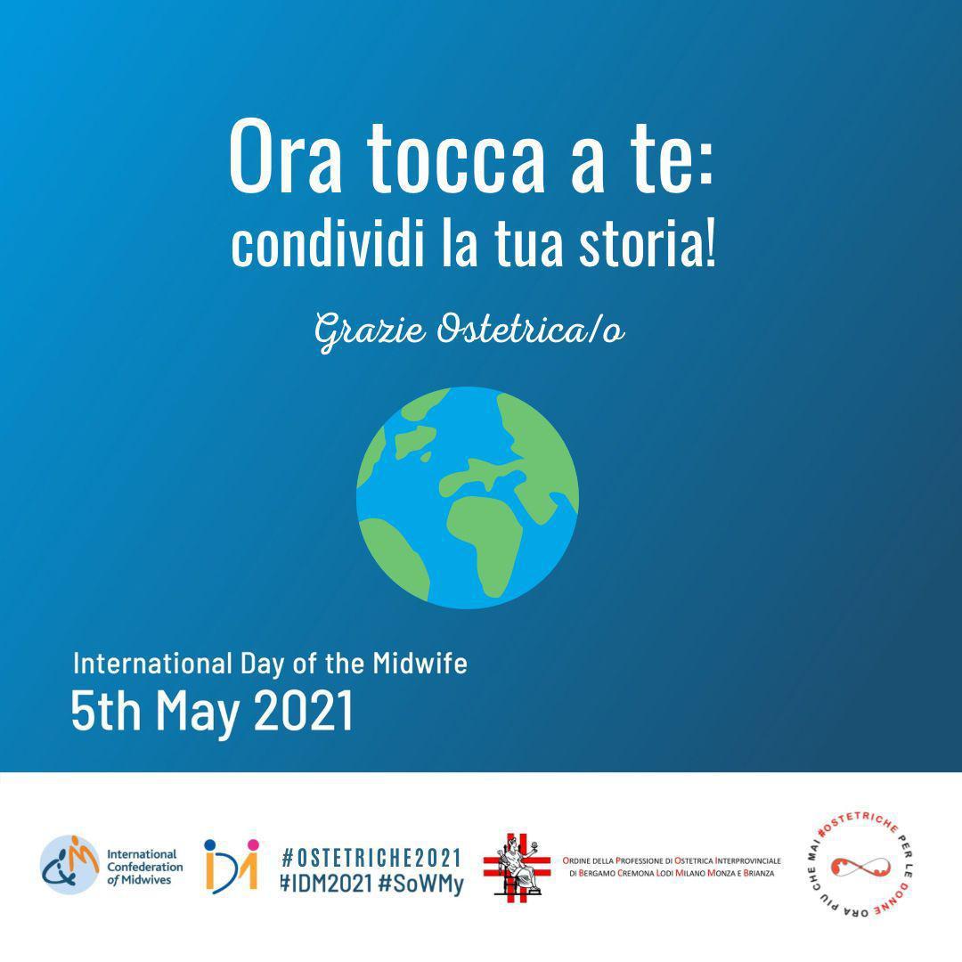 Giornata Internazionale dell'Ostetrica 2021 - Follow the Data: Invest in Midwives