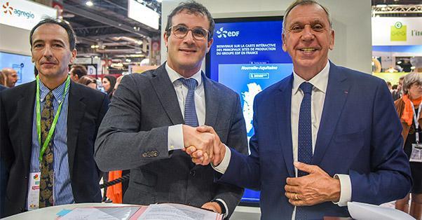 EDF et Aveyron Ambition Attractivité à Paris