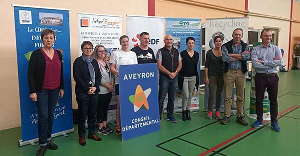 FACE AVEYRON, l'insertion en action : EDF, partenaire de TAF SPORT