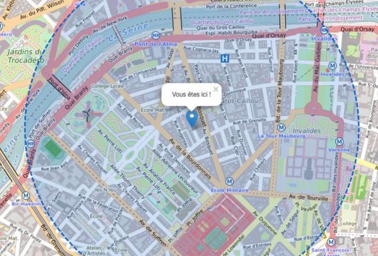 Confinement : Calculer une distance d'1 km (outils)