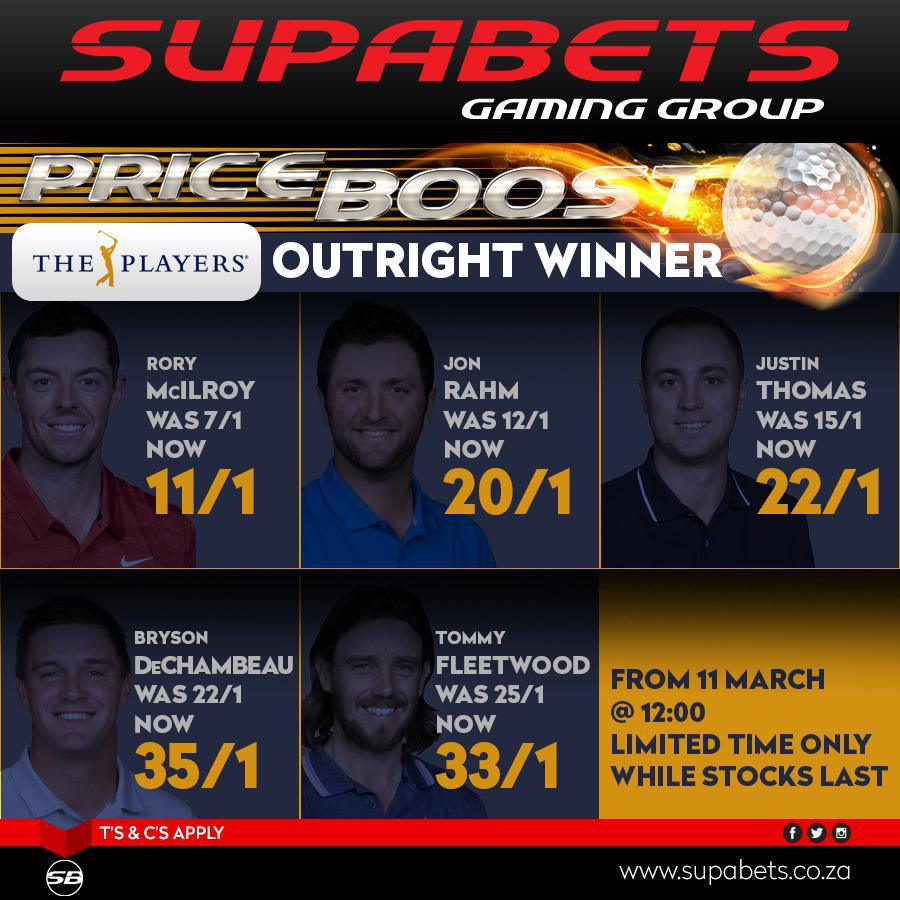PRICE BOOST - Players Championship