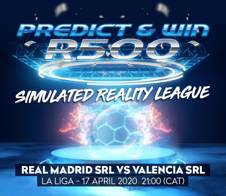 Predict & Win - Simulated Reality League