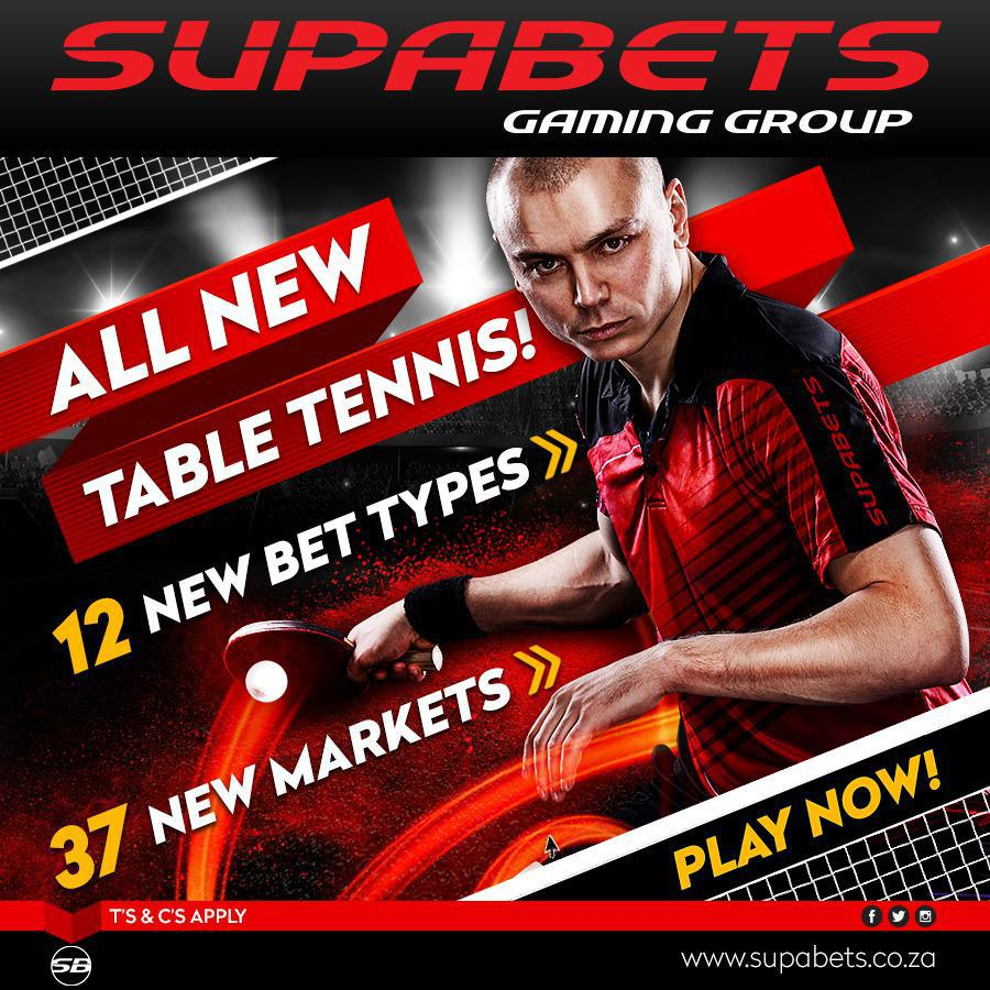 New Table Tennis Bet Types