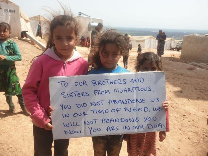 Covid-19: La solidarité au-delà des frontières avec un message venant de Syrie