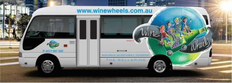 Wine Wheels do the driving for you!