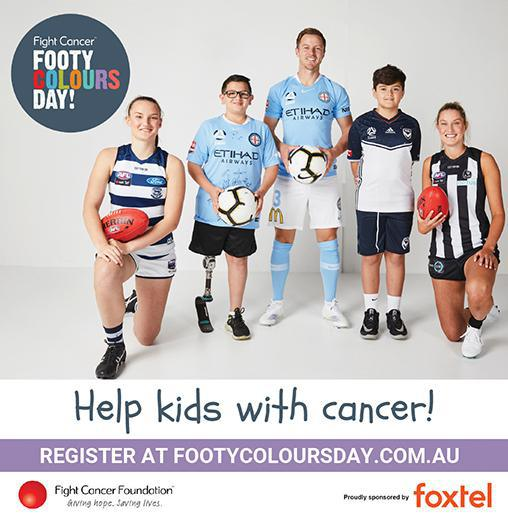Fight Cancer with Footy Colours Day
