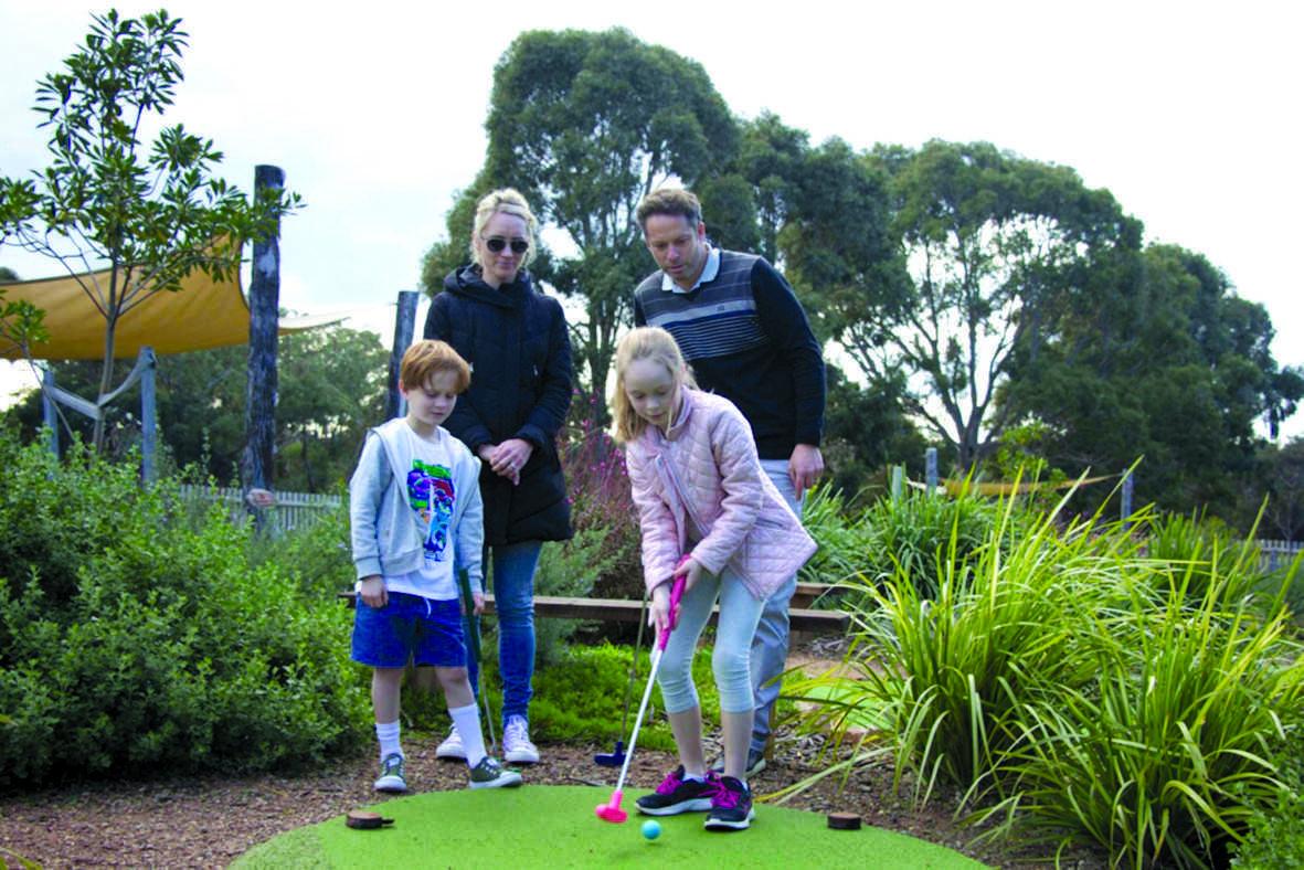 Win an Anglesea Golf Club Mini-Golf Family Pass