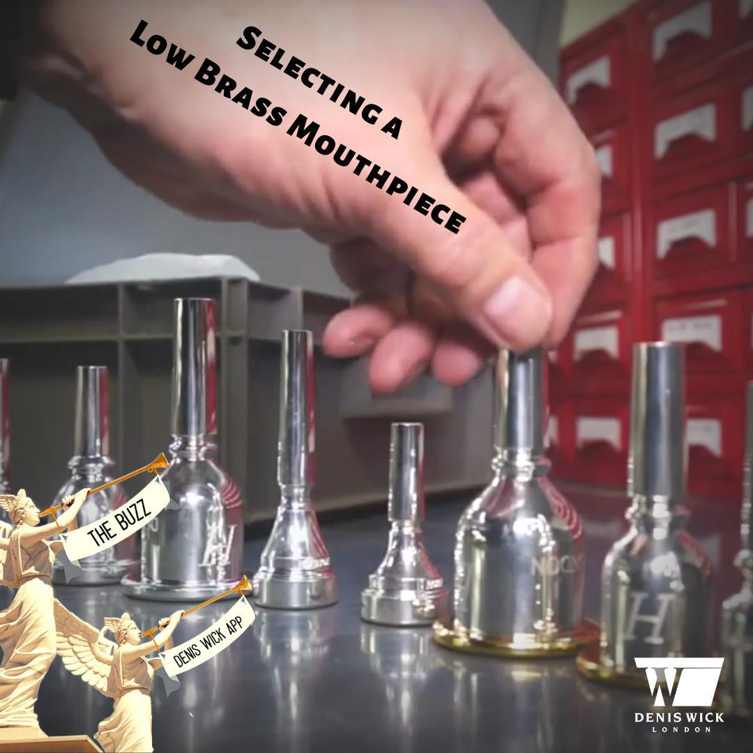 Selecting a Low Brass Mouthpiece