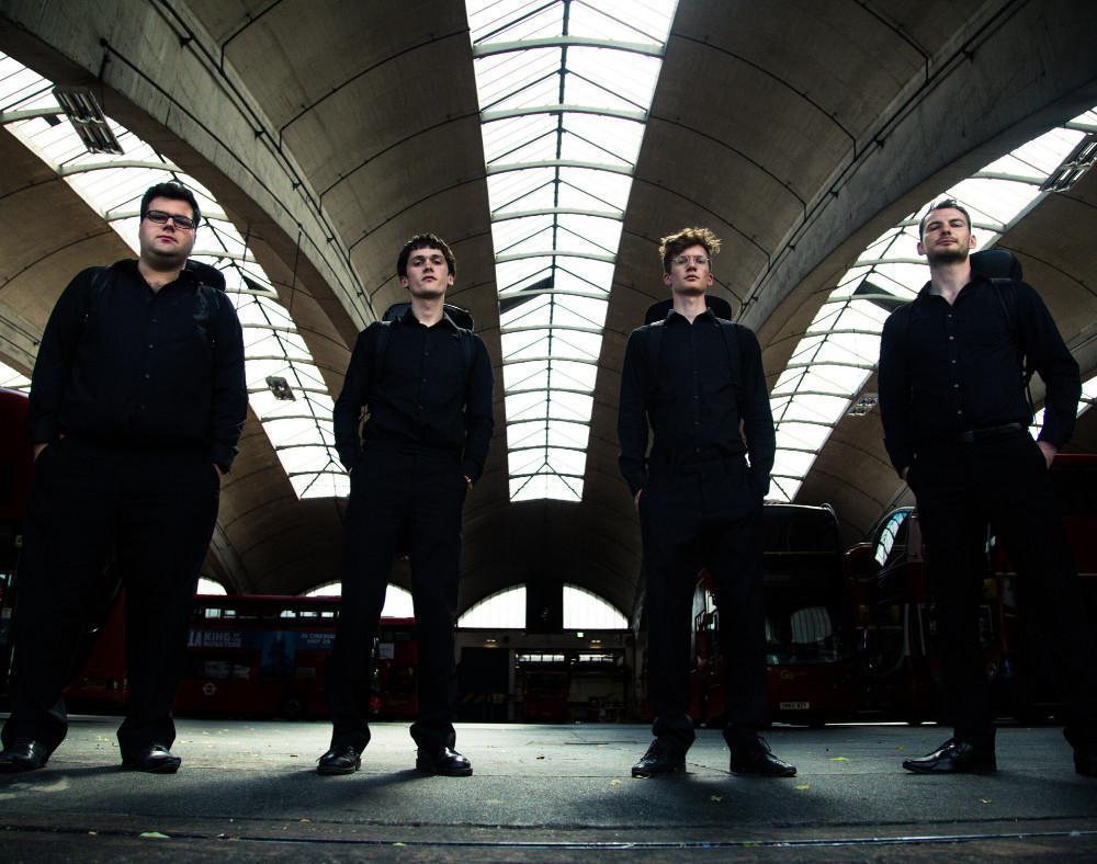Slide Action Trombone Quartet