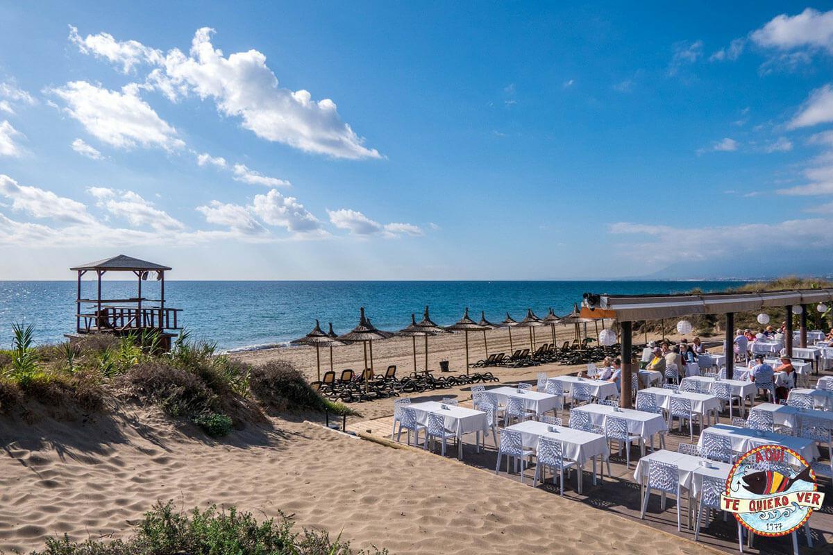 Cocina tradicional malagueña a orillas del Mediterráneo