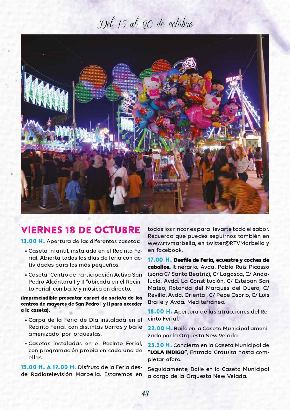 Feria Pedro 2019