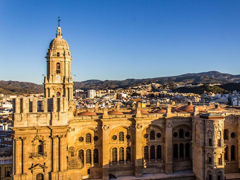 Málaga centro y La Alcazaba