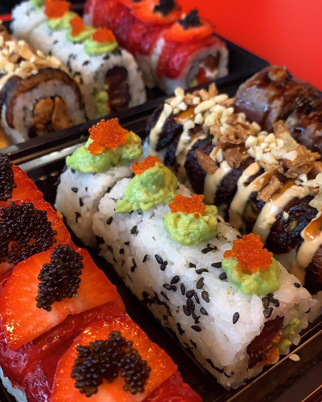 Black Box, 32 piezas de sushi: 38,50€