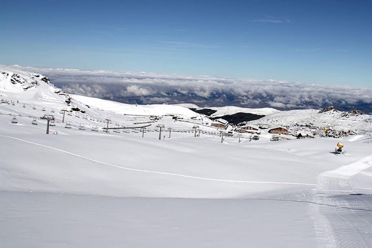 ¡Siente la nieve muy cerca de Marbella!