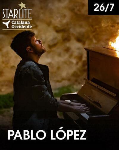Concierto Pablo López en Starlite