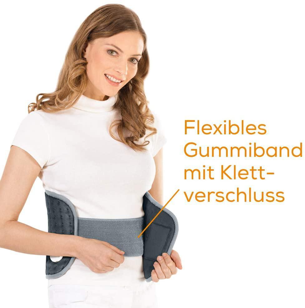 #06 Wärmetherapie // Lendenwirbelsäule - Wärmegürtel gegen Rückenschmerzen
