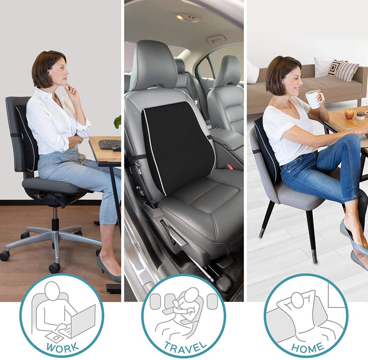 #09 Haltung - Stütztherapie // Rückenkissen für Bürosessel & Autositz