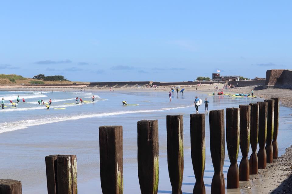 Vazon Beach