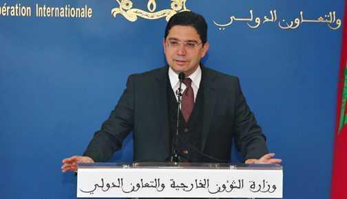 """ناصر بوريطة يؤكد الأهمية """"الخاصة"""" التي يكتسيها القرار رقم 2468 حول الصحراء الذي صادق عليه مجلس الأمن اليوم الثلاثاء"""