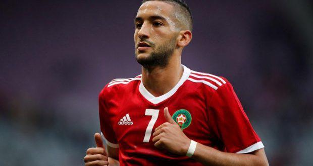 أمم أفريقيا 2019: زياش وحكيمي الأبرز في التشكيلة المغربية