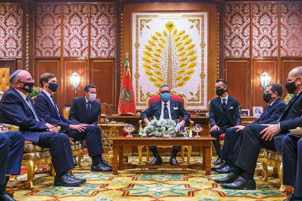 تدشين عهد جديد في العلاقات بين المملكة المغربية ودولة إسرائيل (إعلان مشترك)