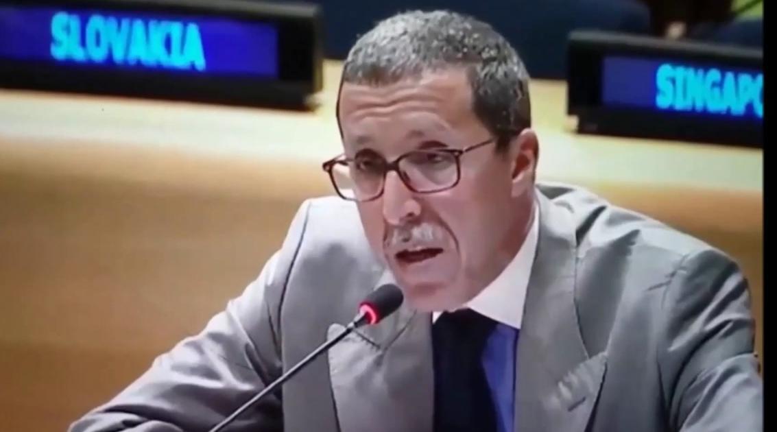"""عمر هلال يندد بمجلس الأمن بازدواجية خطاب الجزائر و """"البوليساريو"""" بشأن موضوع المبعوث الشخصي للصحراء المغربية"""