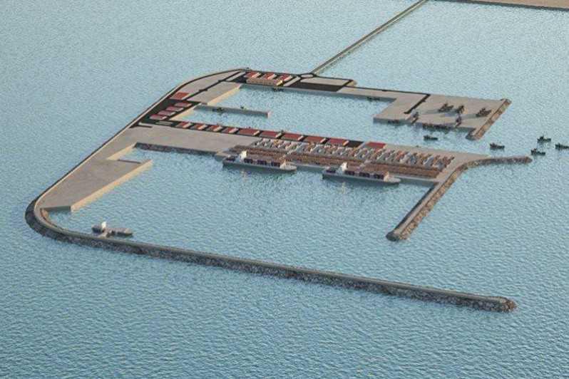 ميناء الداخلة الأطلسي ..مشروع رائد ضمن النموذج الجديد لتنمية الأقاليم الجنوبية، يندرج في إطار التعليمات السامية لجلالة الملك