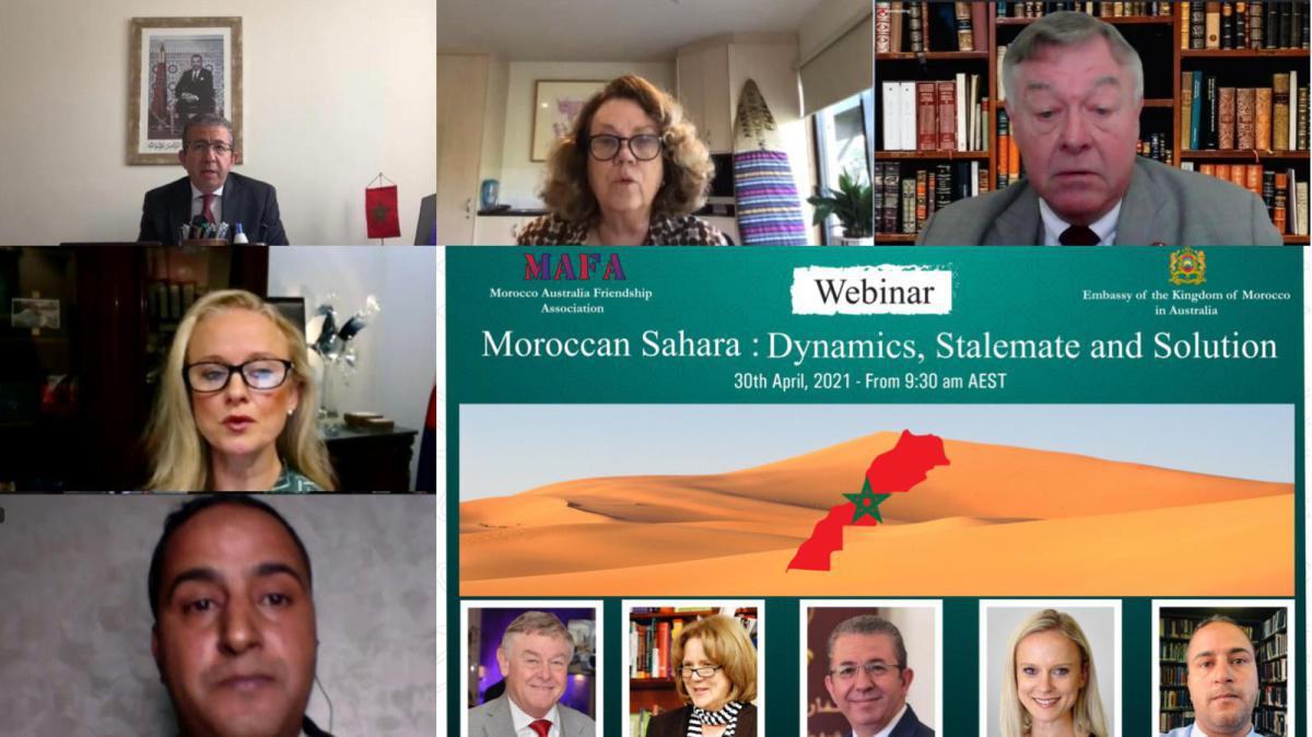 كانبرا: ندوة افتراضية حول الدينامية الدولية لدعم الوحدة الترابية للمغرب