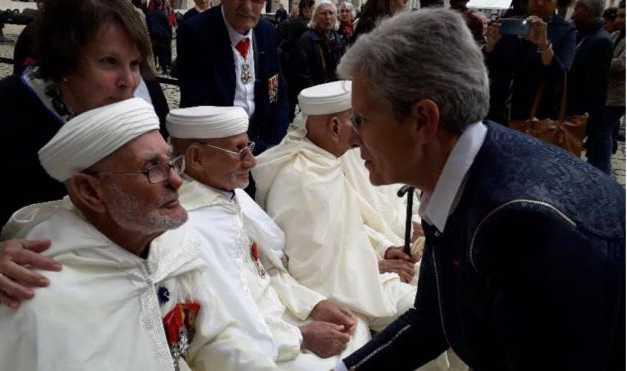 تخليد ذكرى 8 ماي 1945.. فرنسا تكرم مغربيا من قدامى المحاربين يبلغ من العمر 103 عاما