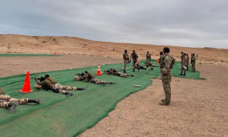 """التدريبات المغربية الأمريكية المشتركة """"الأسد الإفريقي 2021"""" تتواصل بالمحبس"""