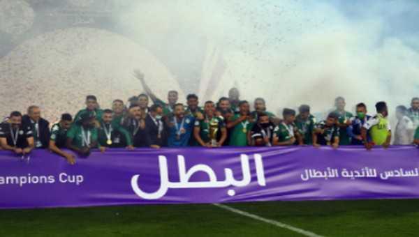 كأس محمد السادس للأندية العربية الأبطال .. مشوار فريق الرجاء الرياضي إلى التتويج باللقب