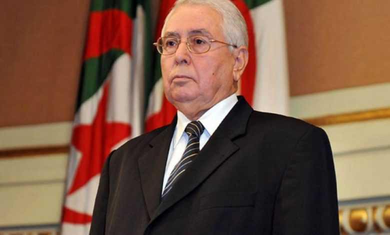 وفاة الرئيس الجزائري الموقت السابق عبد القادر بن صالح