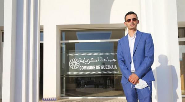 محمد بولعيش، شاب يقود التغيير برئاسة جماعة اكزناية