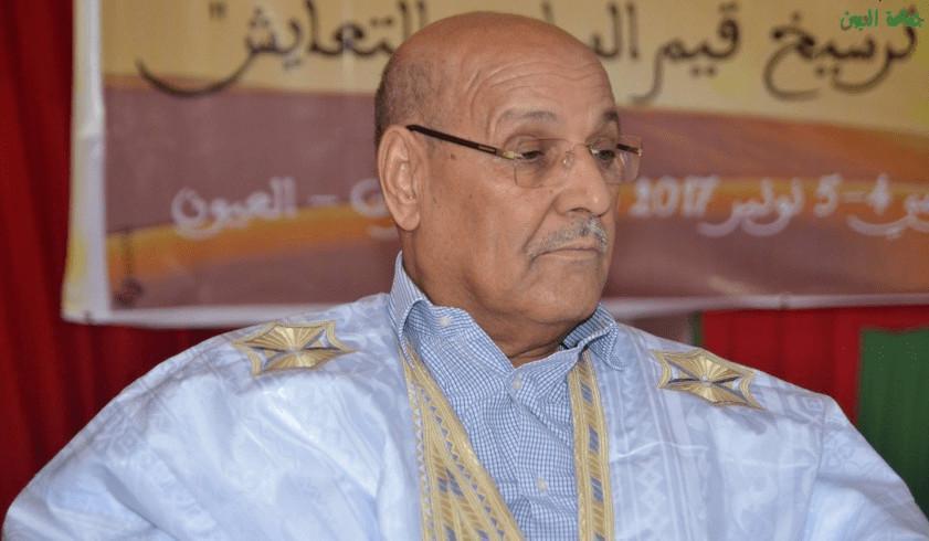 مولاي حمدي ولد الرشيد رئيس مجلس جماعة العيون
