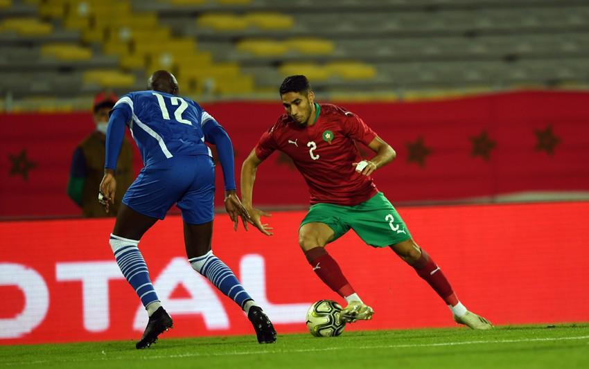 إقصائيات مونديال قطر (الجولة 3-المجموعة 9).. المنتخب المغربي يفوز على غينيا بيساو 5-0 ( بطاقة تقنية )