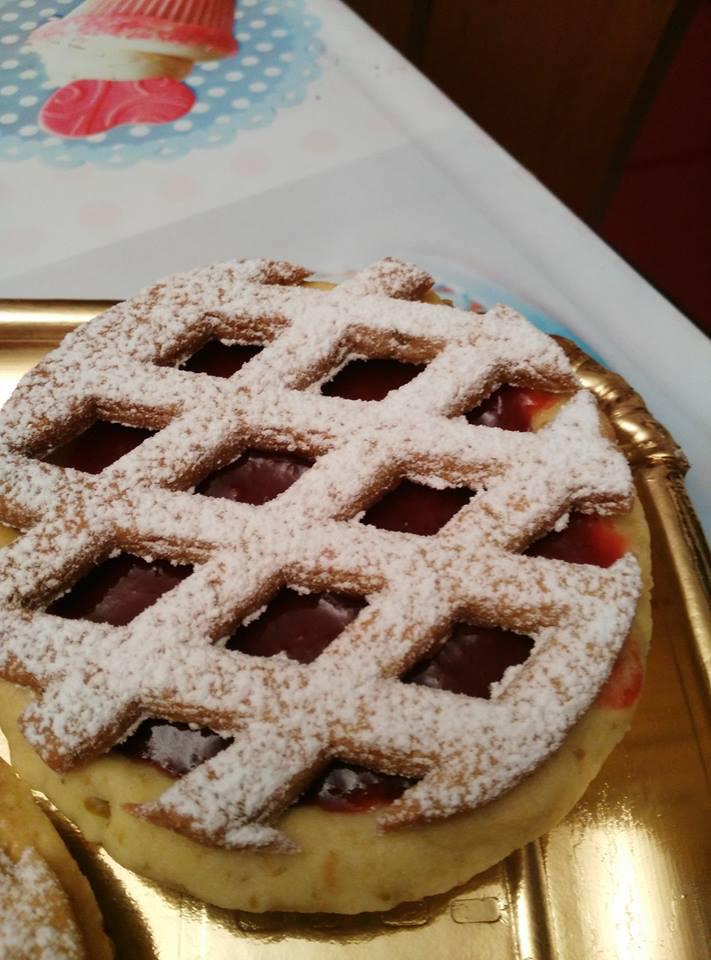 Crostatina alla ciliegia