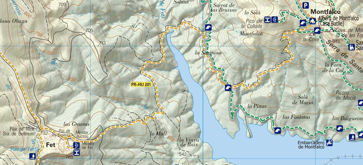 PR-HU 201 Montfalcó a Fet (etapa 2)