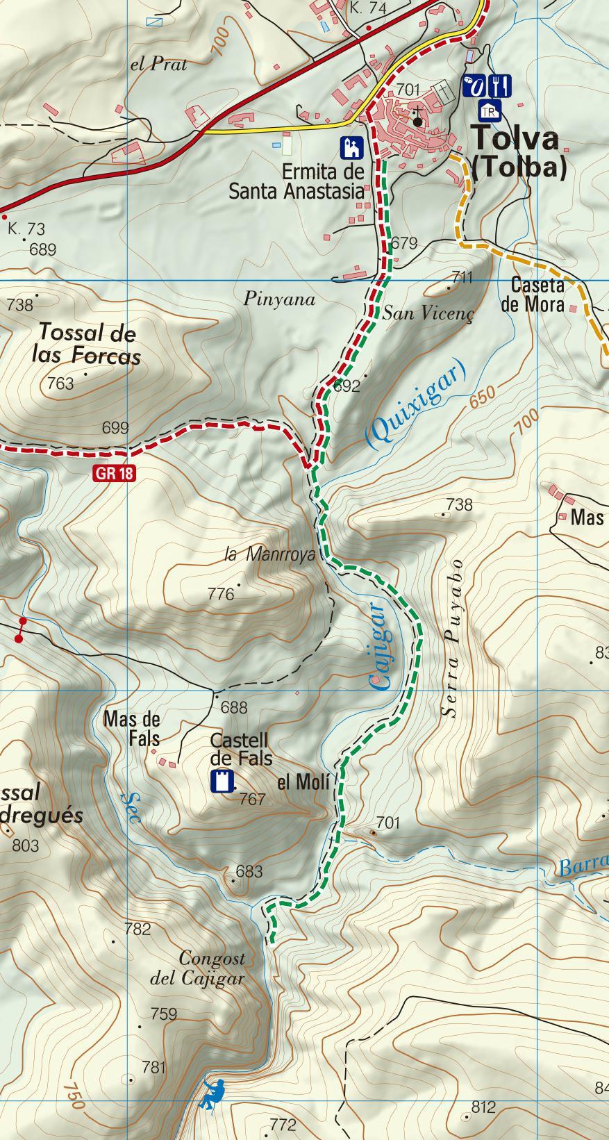 Ruta al Congost del Cajigar