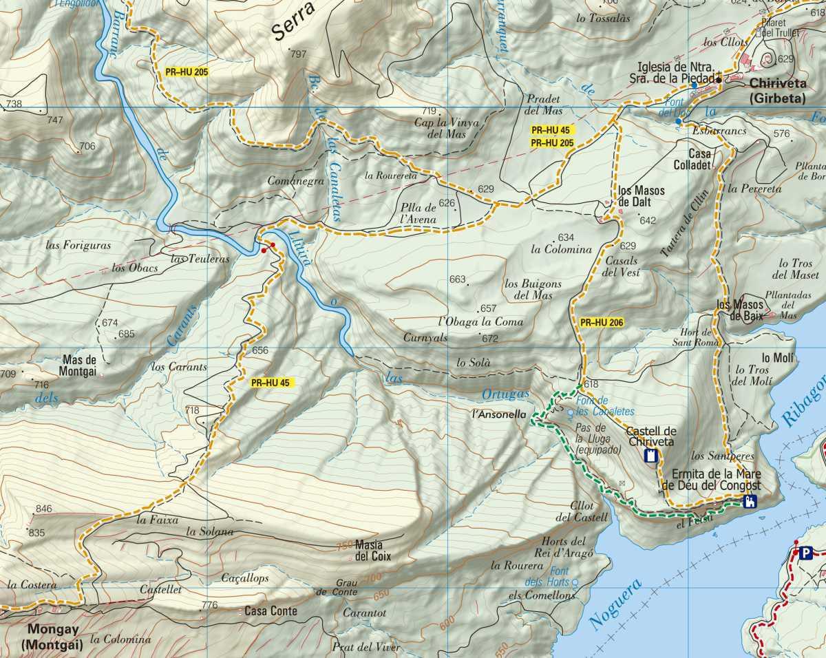 PR-HU 45, etapa 2: Chiriveta - Mongay