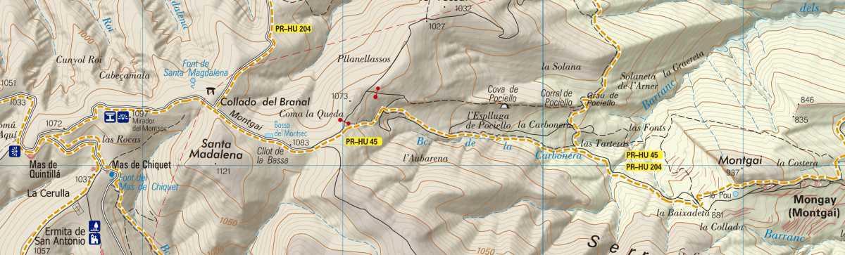 PR-HU 45, etapa 3: Montgai - Mas de Quintillá