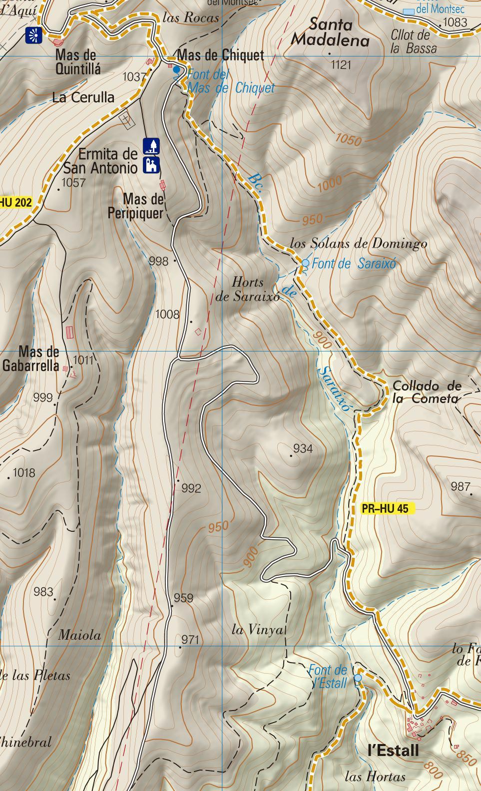 PR-HU 45, etapa 4: Mas de Quintillá - l'Estall
