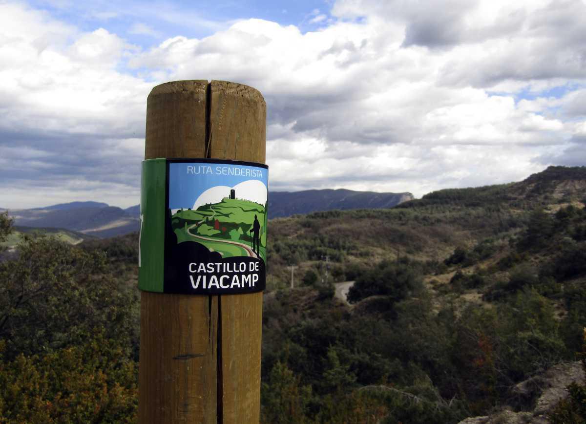 Ruta senderista Castillo de Viacamp