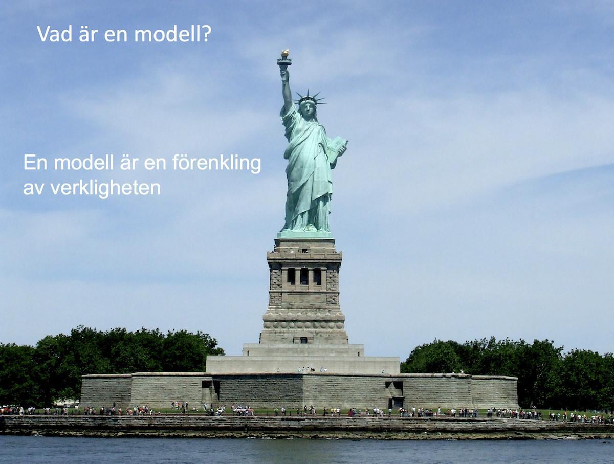 Vad är en modell?