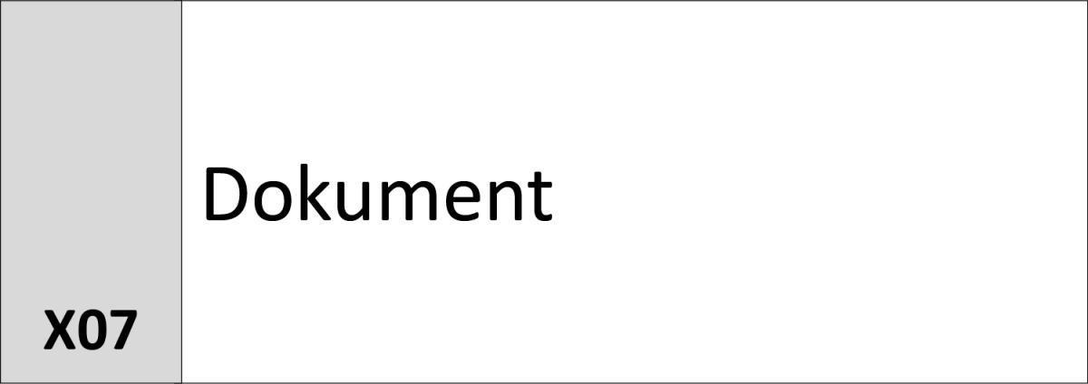 X07 Dokument
