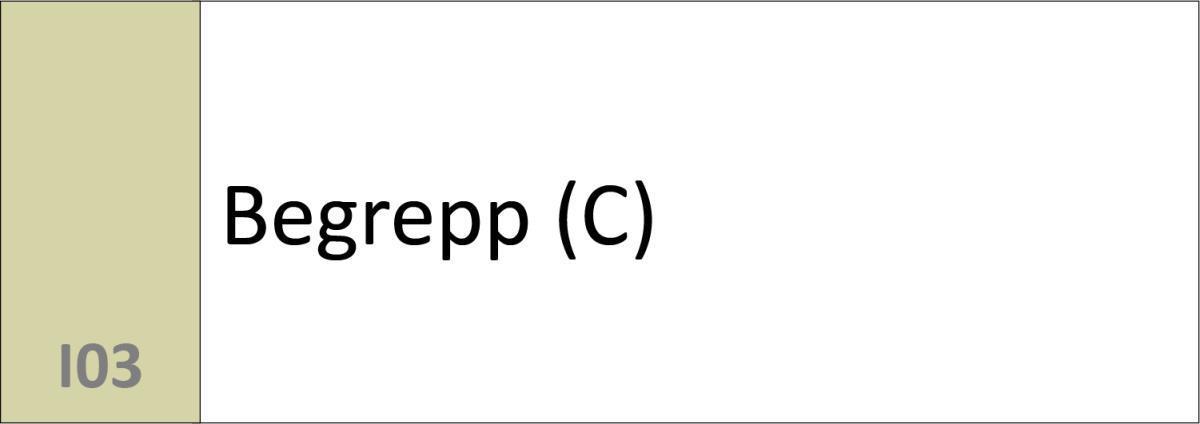 I03 Begrepp (C)
