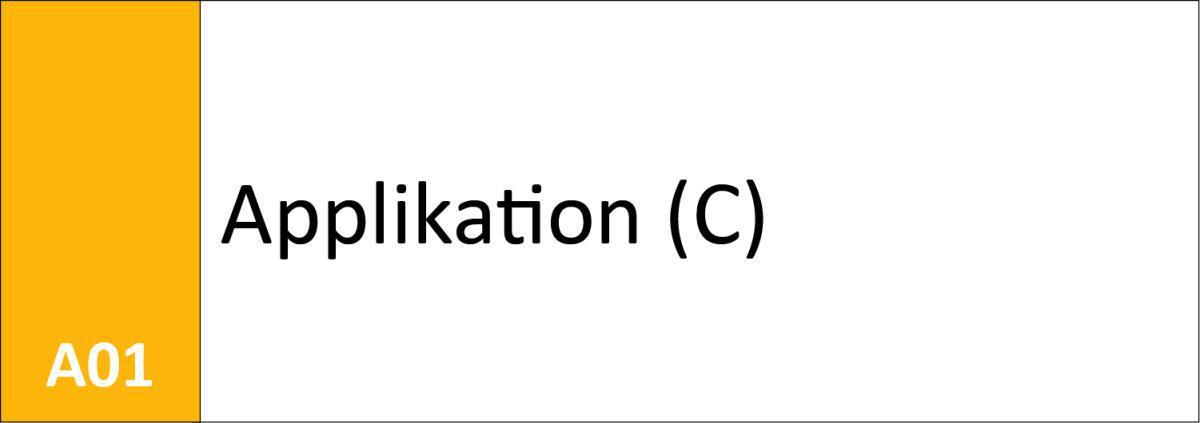 A01 Applikation (C)